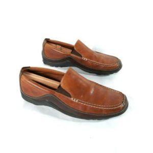 Cole Haan Mens Tucker Venetian brown dress loafers
